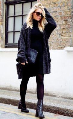 Un buen abrigo le da a tu look muchos puntos.