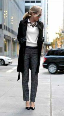 Los pantalones con textura o estampados como este son prefectos para las que tienen piernas delas.