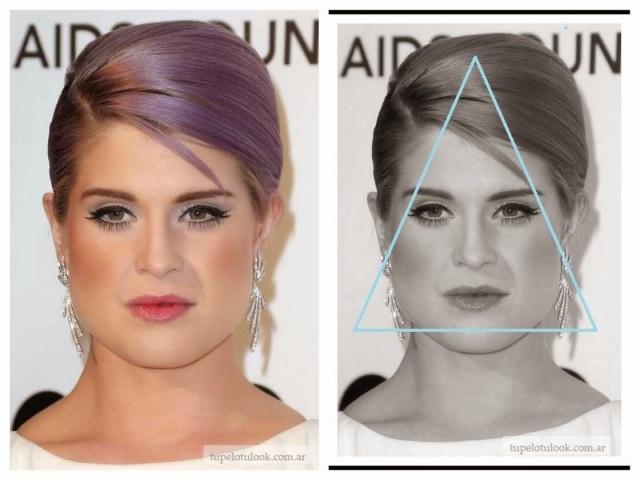 cortes de pelo-cara triangulo