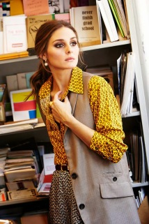 Olivia Palermo Street Style - How To Mix Patterns 01