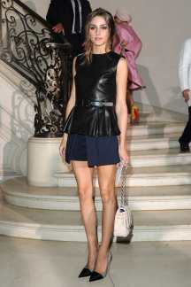 PARIS, FRANCE - JULY 02: Olivia Palermo arrives at the Christian Dior Haute-Couture show as part of Paris Fashion Week Fall / Winter 2013 on July 2, 2012 in Paris, France. (Photo by Pascal Le Segretain/Getty Images)