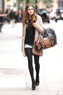 -New York, NY 10/02/09- Olivia Palermo leaving the Anya Hindimarch store in Soho after taping The City -PICTURED: Olivia Palermo -PHOTO by: Freddie Baez/startraksphoto.com -FB218934 All Over Press