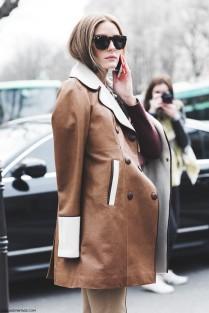 Paris_Fashion_Week-Fall_Winter_2015-Street_Style-PFW-Olivia_Palermo_Leather_Coat-Giambatista_Valli-Flared_Trousers-15-790x1185
